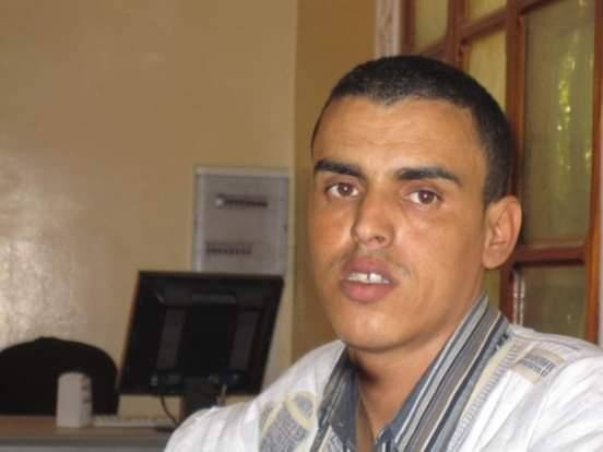 الكاتب الصحفي محمد ناجي ولد أحمدو