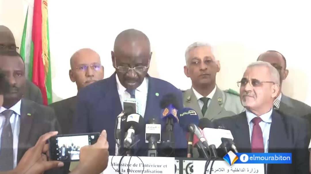 د/  محمد سالم ولد مرزوك    وزير الداخلية واللامركزية