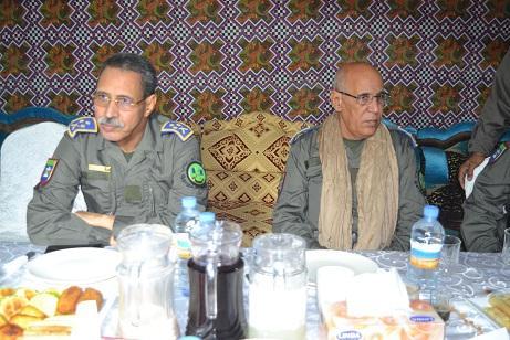 الفريق مسغارو ولد اقويزي / قائد أركان الحرس الوطني