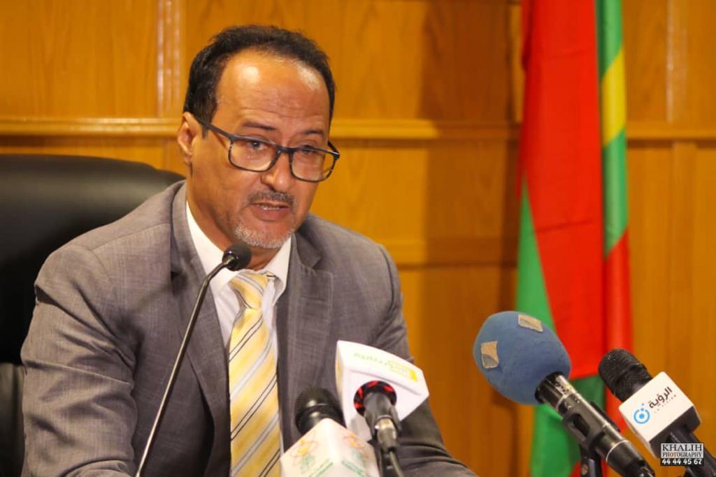 الأستاذ / محمد سالم ولد الداه  نقيب الصحفيين الموريتانيين
