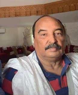 الرئيس السابق / محمد ولد عبد العزيز