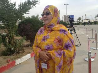 د / مريم منت امود رئيسة النسخة الثانية من مهرجان ابي تلميت الثقافي