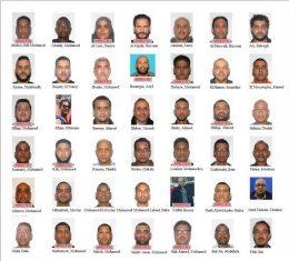 قائمة الشباب المطلوبين لدى الأمن الأمريكى