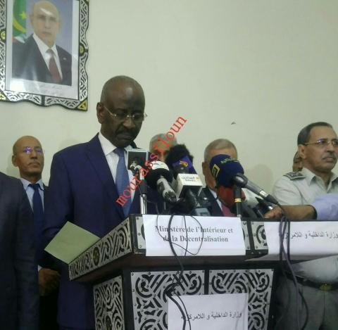 د/ محمدسالم ولد مرزوك ــــــــ وزير الداخلية و اللامركزية