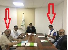 مجلس إدارة النبك في جلسة عمل سابقة