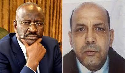 أحمدو ولد إياهي و الوزير محمدسالم ولد مرزوك