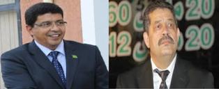 الرئيس : سيدى محمد ولد محم   و المعتوه حميد شباط