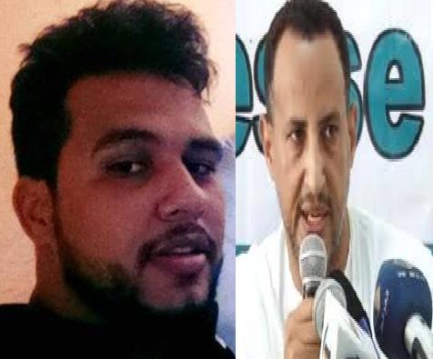 السيناتير ول غدة رفقة ضابط الصف محمد ولد محمد امبارك