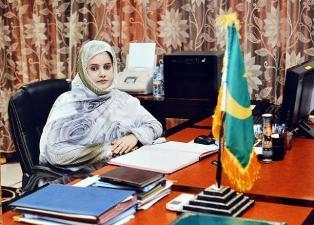 الوزيرة زينت منت اعل سالم / الامينة العامة للحكومة
