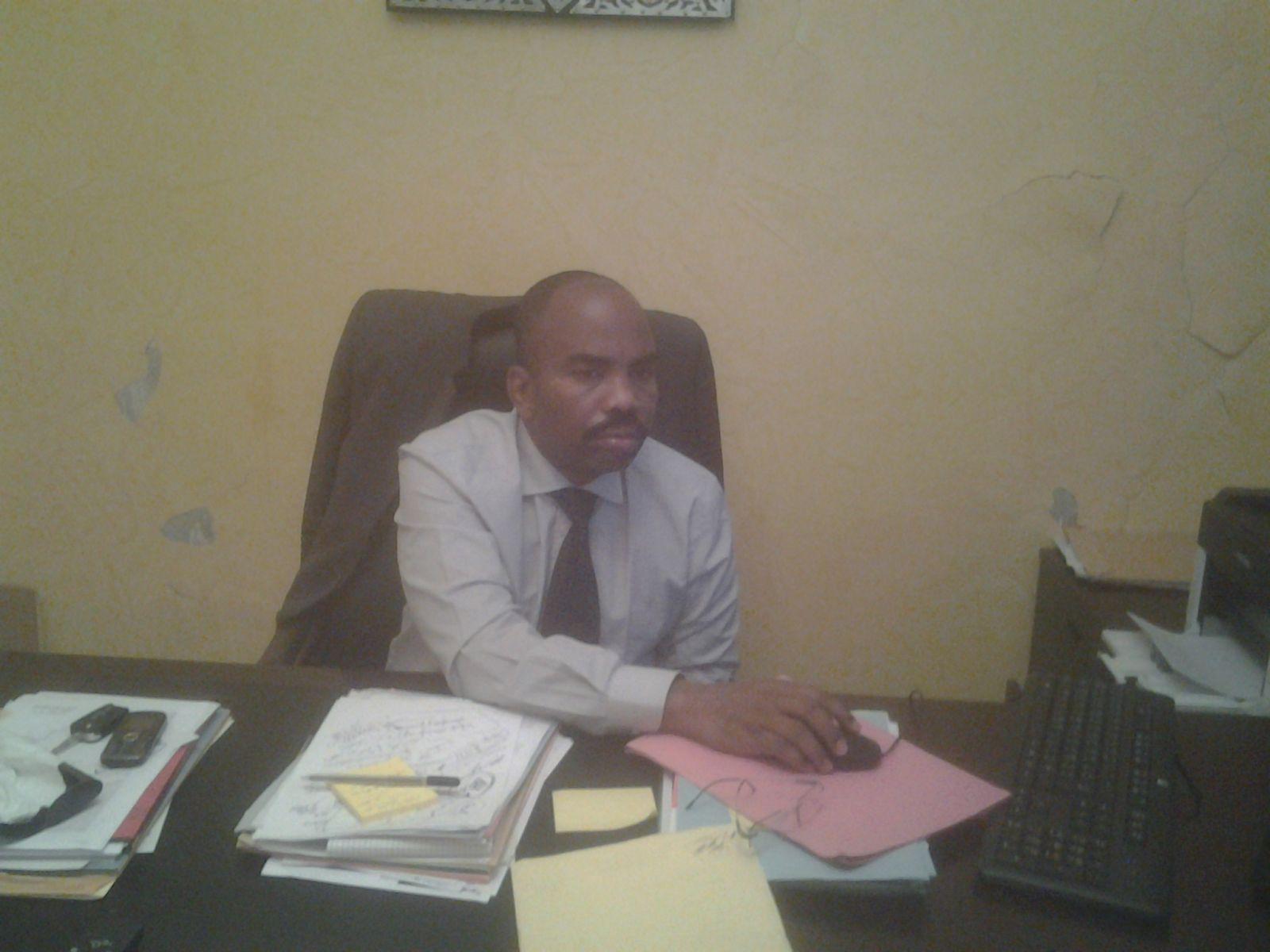 المدير العام لمركز تأهيل القُصّر السيد/ محمد فال ولد يوسف