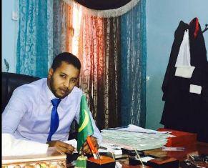 القاضى : أحمدو بمب ولد محمدو وكيل الجمهورية لدى محكمة ولاية الحوض الغربي