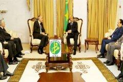 رئيس الجمهورية أثناء لقاء مدير المخابرات المغربية (وما)