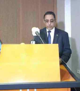 السيد /  محمدو ولد سيدي رئيس الاتحادية الوطنية للنقل