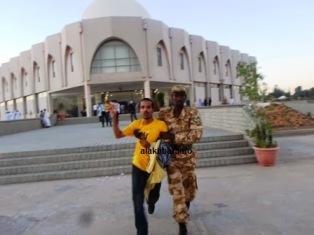 الشاب عبد الرحمن ولد سيدي محمد ولد السنهوري اثناء اعتقال سابق