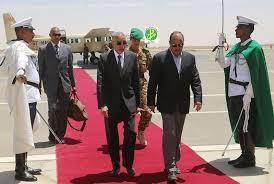 الرئيس الموريتاني مع وزيره الأول