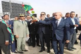 فخامة الرئيس الجمهورية رفقة الوزير الأول في نشاط حكومي سابق