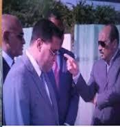 """المختار ولد اجاي يظهر صاغرا كسيرا حسيرا امام ولي نعمته الرئيس """" عزيز """""""