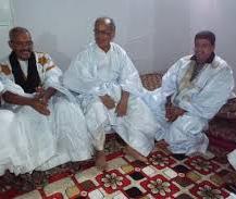 الوزير ولد محمد لغظف في جلسة عائلية