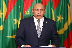 الرئيس الموريتاني محمد ولد الشيخ الغزواني