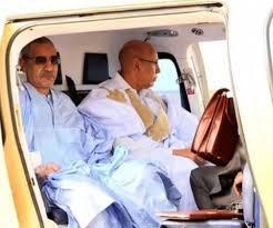الرئيس ولد الشيخ الغزواني ومدير ديوانه محمد أحمد ولد محمد محمود