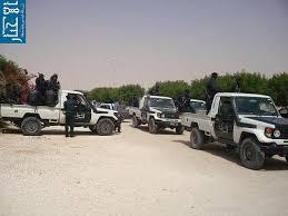 دوريات من الشرطة الموريتانية