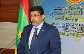 معالى الوزير سيدي محمدولد محم / الناطق الرسمي باسم الحكومة