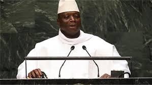 الرئيس الغامبي المنهزم في الإنتخابات / يحي جامى