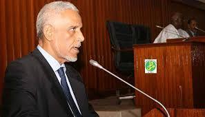الأستاذ: ابراهيم ولد داداه  وزير العدل الموريتاني