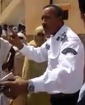 المفوض / هنون مفوض الشرطة بمقاطعة ابي تلميت