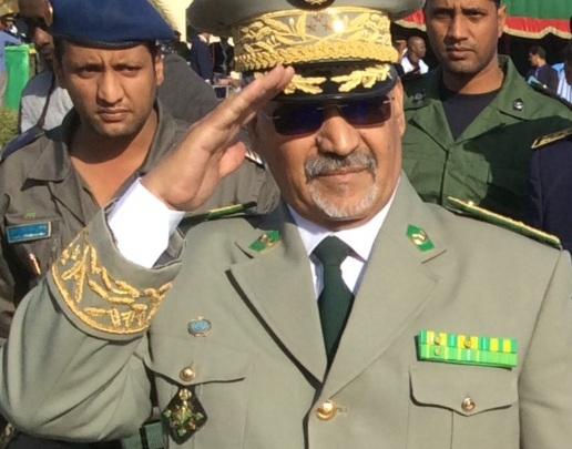 الفريق محمد ولد مكت /  القائد العام لاركان الجيوش