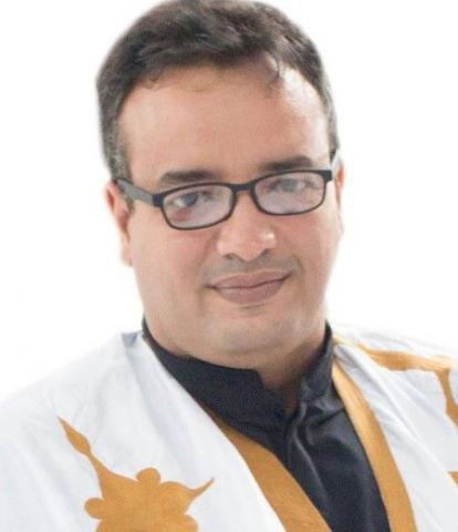 الكاتب المهوب / عبد الرحمن ولد ودادي