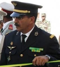 الجنرال  محمد ولد احريطانى قائد الطيران العسكري الموريتاني