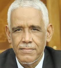 الاستاذ ابرهيم ولد داداه وزير العدل الموريتاني