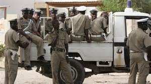 دورية من قطاع الشرطة الوطنية