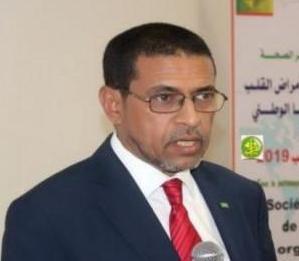 د نذير ولد حامد / وزير الصحة الموريتاني